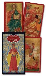 Karty Tarota - Golden Tarot of the Tsar - Lo scarabeo